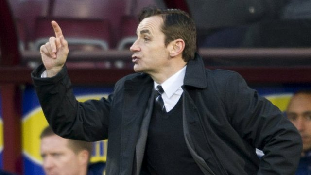 St Mirren boss Danny Lennon