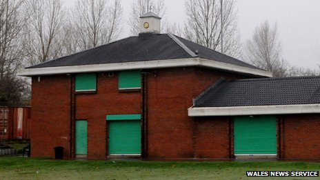 The BBC understands the polling station was is in the Bettws ward, with reports that it was at this cricket club
