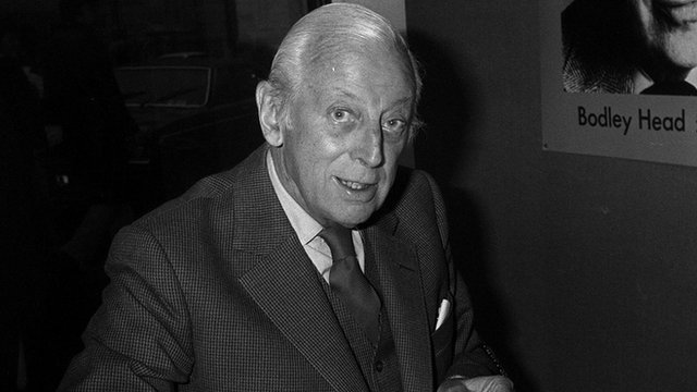 Alistair Cooke, the Letter from America broadcaster for Radio 4