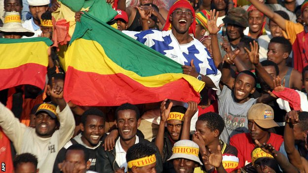 Ethiopia football fans