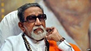 Bal Thackeray (file photo - April 2012)