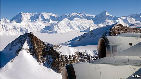 Ellsworth Mountains in Antarctica