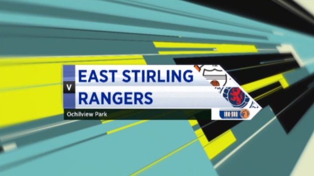 East Stirling v Rangers