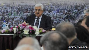 Palestinian Authority President Mahmoud Abbas (18 Nov 2012)