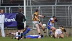 David McKenna scores Crossmaglen's second goal in their 2-10 to 0-10 victory over Errigal Ciaran in the semi-finals of the Ulster Club Championship