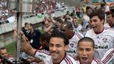 Fluminense celebrate title win