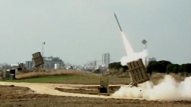 Iron Dome in action