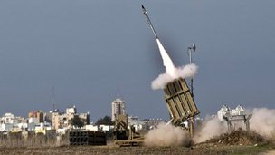 Iron Dome missile launch, Ashdod.