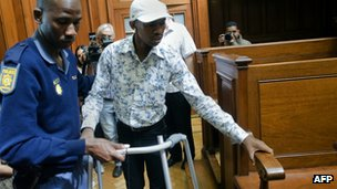 Xolile Mngeni in court