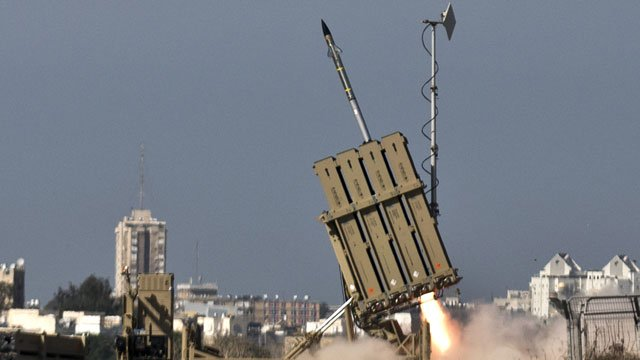 Israel&#039;s Iron Dome air defence system