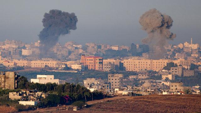 Bombardment in Gaza