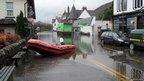 Flooding in Aberfoyle [Pic: Przemyslaw Soczynski]