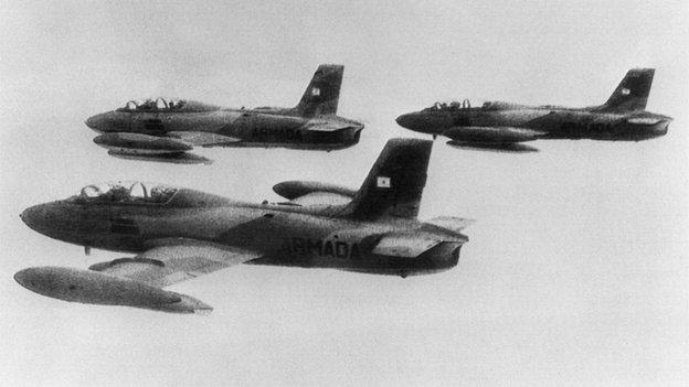 Argentina planes 1982
