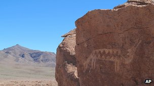 Petroglyph in Chile (file pic)