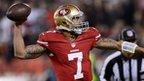 San Francisco 49ers' Colin Kaepernick