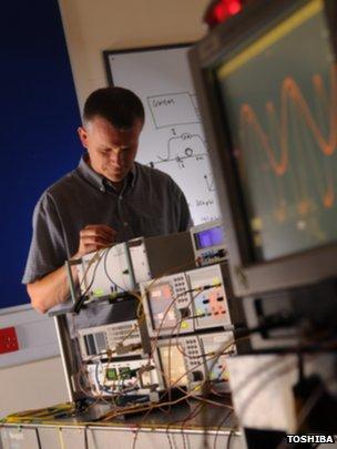 Toshiba Cambridge Research Centre lab
