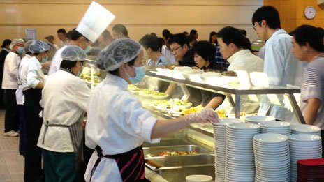 Huawei cafeteria