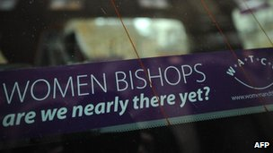 Car sticker campaigning for women bishops