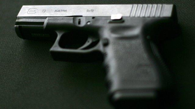 9mm Glock pistol