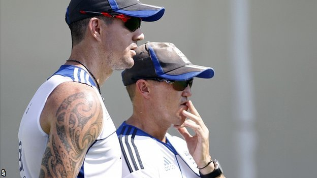 Kevin Pietersen &amp; Andy Flower
