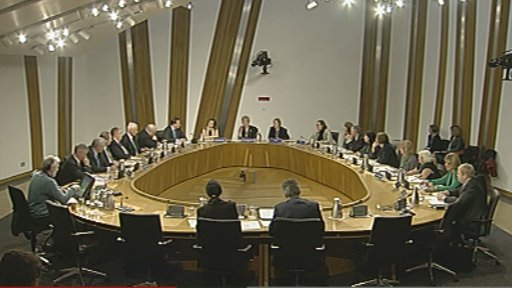 MSPs took evidence