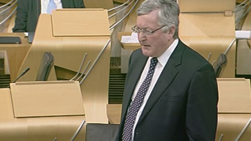 Energy, Enterprise and Tourism Secretary Fergus Ewing