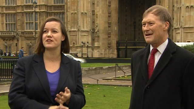 Meg Hillier and David Amess