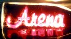 Arena bottle logo