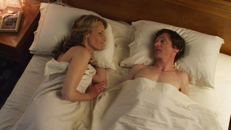 Helen Hunt and John Hawkes