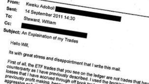 Kweku Adoboli's email