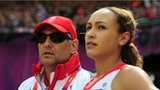 Toni Minichiello and Jessica Ennis