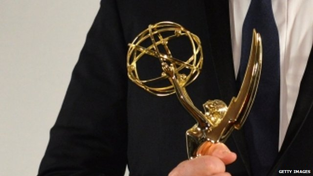 Emmy trophy
