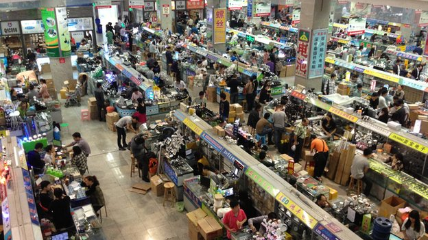 Electronics market
