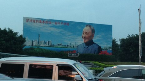 Poster of Deng Xiao Ping