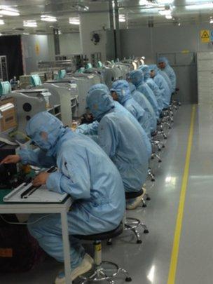 Huawei workers