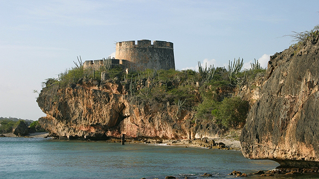 Fort Beekenburg on Curacao