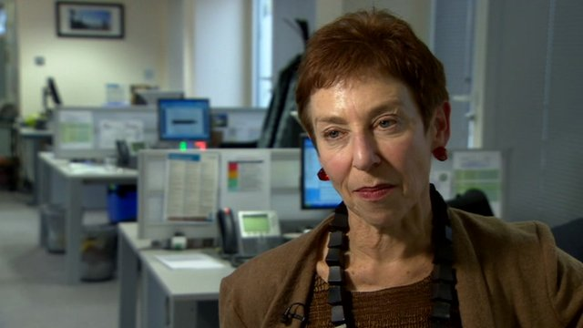 Deputy Children's Commissioner for England Sue Berelowitz