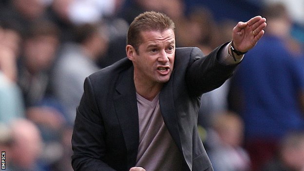 Preston North End manager Graham Westley