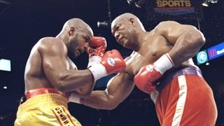 Michael Moorer and George Foreman