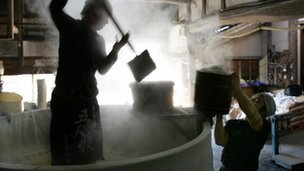 Sake brewing