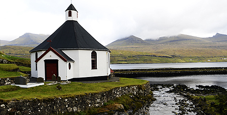 Church on Faroe Islands