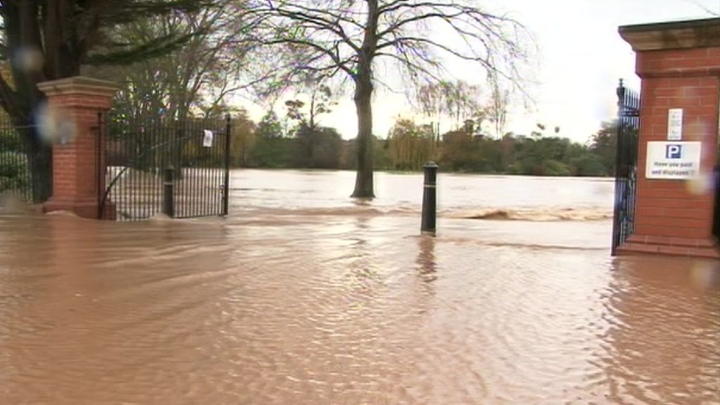 Flooded Vivary Park