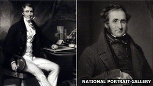 Portraits of William Jardine and James Matheson