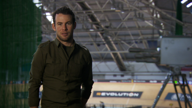 Mark Cavendish and the Sports Personality of the Year trophy