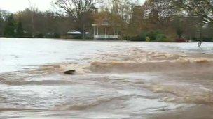 Vivary Park in Taunton, Somerset