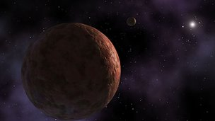 Kuiper belt dwarf planet
