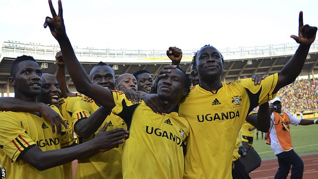 Uganda's international footballers