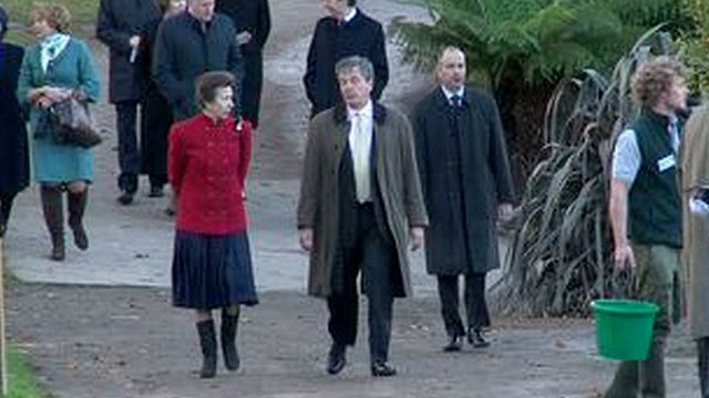 The Princess Royal visiting Durrell Wildlife Conservation Trust