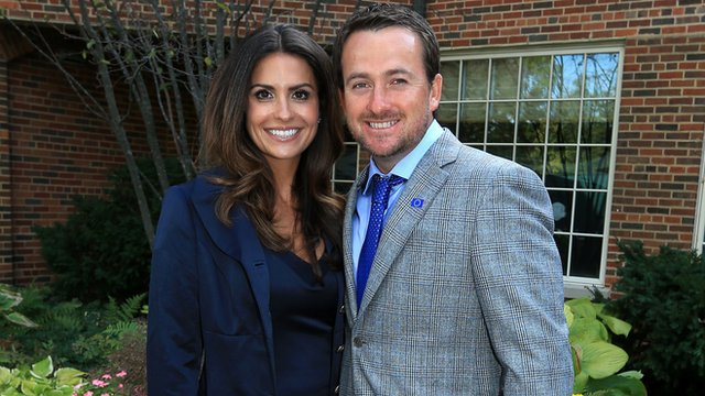 Golfer Graeme McDowell has become engaged to Kristin Stape