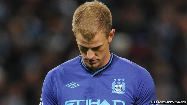Man City's Joe Hart
